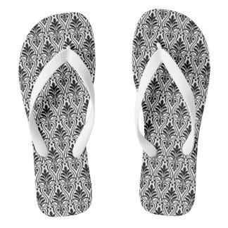 Art Deco Flip Flops