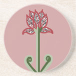 Art Deco Flower Coaster