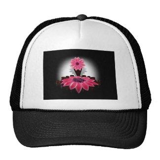 Art Deco Flower Trucker Hats