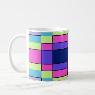 Art Deco Flowers Coffee Mug