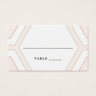 Art Deco Geometric Diamond Wedding Invitation