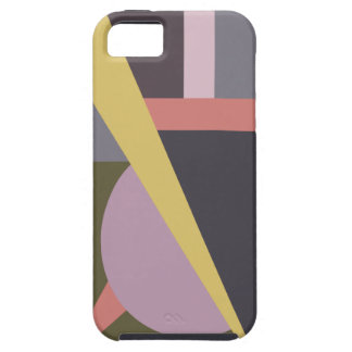 Art Deco Geometric No. 1 iPhone Case Tough iPhone 5 Case