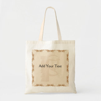 Art Deco Geometric Canvas Bag