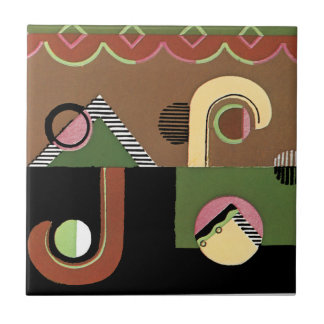 Art Deco Geometrics Tile