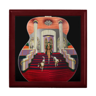 Art Deco, Gibson Large Square Gift Box