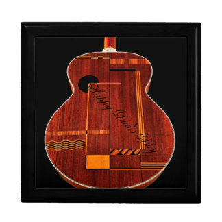 Art Deco, Gibson, Happy Dad's Day Large Square Gift Box