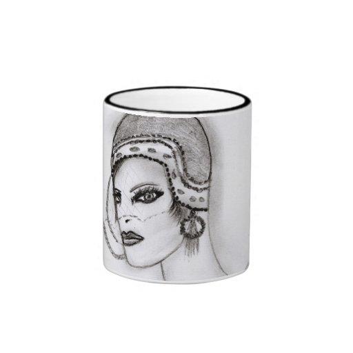 Art Deco Girl 2 Mugs
