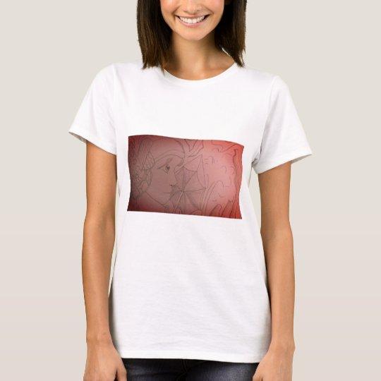 Art Deco girl t-shirt
