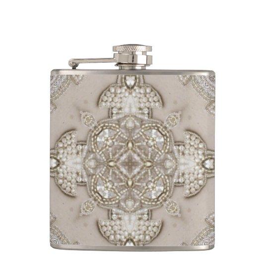 Art Deco Glamourous Great Gatsby Rhinestone Lace Hip