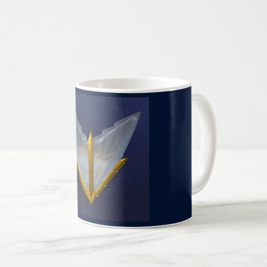 Art Deco Glass Design Coffee Mug