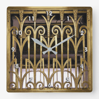 Art Deco Wall Clocks Zazzle Co Uk