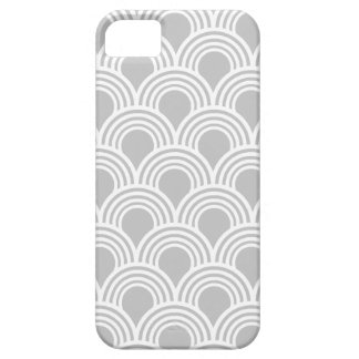 Art Deco Great Gatsby Style Mod Shell Pattern iPhone 5 Covers