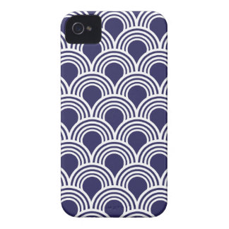Art Deco Great Gatsby Style Mod Shell Pattern Case-Mate iPhone 4 Cases