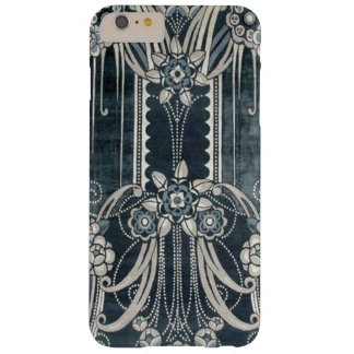 Art Deco iPhone 6 Case in Blue and Silver