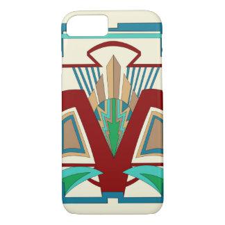 Art Deco iPhone 7 Case (Pale Yellow)