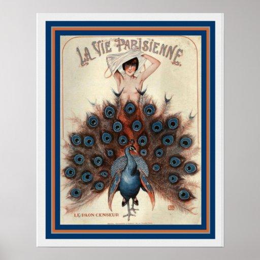 Art Deco La Vie Parisienne 16 x 20