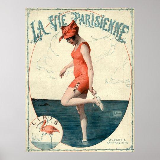 Art Deco La Vie Parisienne Poster