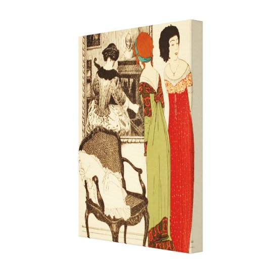Art Deco ~ Ladies and the Painting Canvas