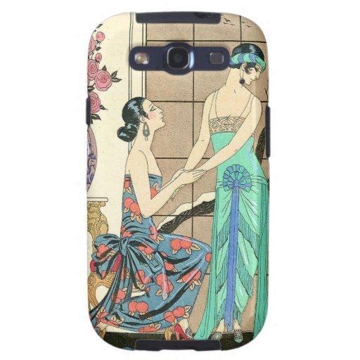 Art Deco Ladies By the Window Samsung Galaxy SIII Cases