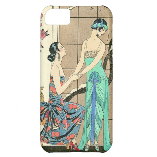 Art Deco Ladies By the Window iPhone Case Case For iPhone 5C