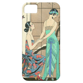 Art Deco Ladies By the Window iPhone Case iPhone 5 Covers