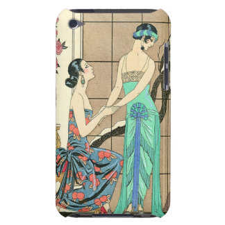 Art Deco Ladies By the Window iPod Case Case-Mate iPod Touch Case