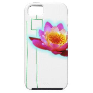 Art deco lotus iPhone 5 cover