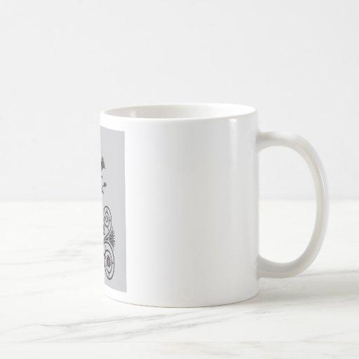 Art Deco Lotus (Egyptian) Mug