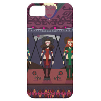 ART DECO MARSIAN WARRIORESS iPhone 5 COVERS