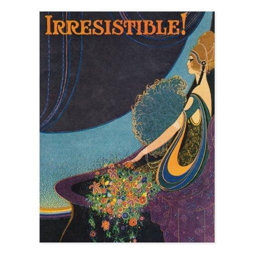 Art Deco Mavis Perfume Advertisement Post Cards