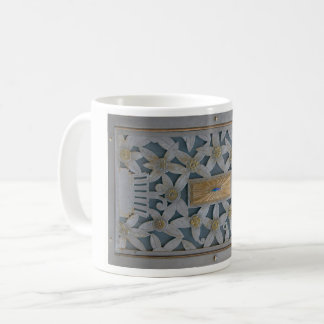 Art Deco Metal Design Coffee Mug