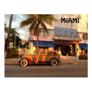 Art Deco Miami Postcard