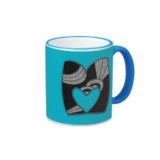 art deco monogram - M Mugs