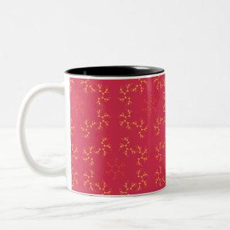 Art Deco Two-Tone Coffee Mug
