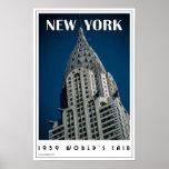 Art Deco New York Poster