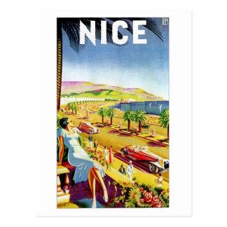 Art Deco Nice French riviera Postcards