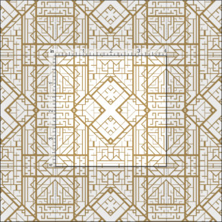 Art deco fabric for sewing quilting crafts for Art deco style fabric