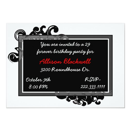 Art Deco Party Invitation