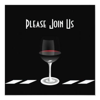 Art Deco Party Invitation Please Join Us Custom