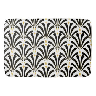 Art Deco Pattern Bath Mats