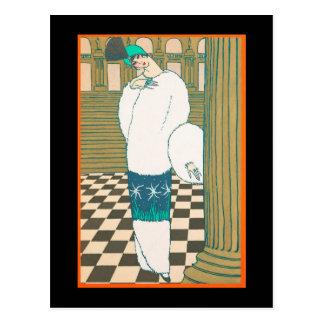 Art Deco Postcard 1