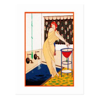 Art Deco postcard 13
