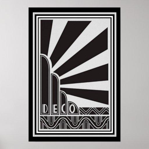 Art Deco Poster 13 x 19