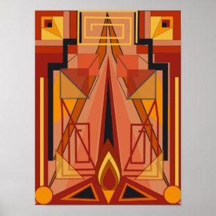 Art Deco Posters & Prints   Zazzle UK