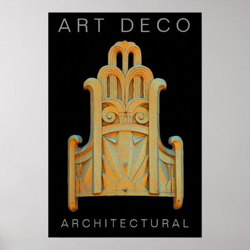 Art Deco-Print Poster