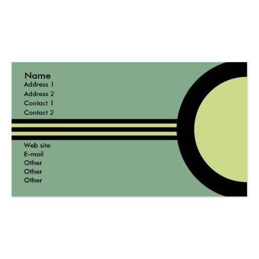 Premium Eco Green Business Card Templates