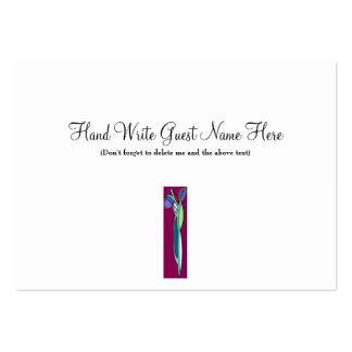 Art Deco Rose  2 - Place Cards Pack Of Chubby Business Cards