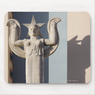 Art Deco Sculpture at the State Fair of Texas Mouse Pad