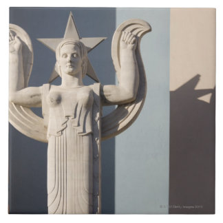 Art Deco Sculpture at the State Fair of Texas Tile