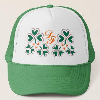 Art Deco Shamrocks ~ Hat